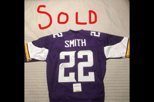 HARRISON SMITH AUTOGRAPH JERSEY-$100