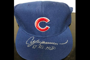 ANDRE DAWSON AUTOGRAPH CUBS HAT-$80 (REDUCED PRICE!)