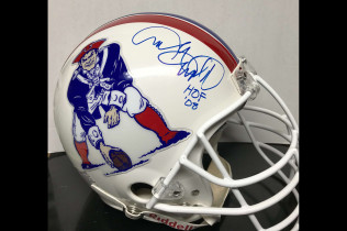 ANDRE TIPPETT AUTOGRAPHED AUTHENTIC RIDDELL FIELD HELMET-$550  VERY RARE!!