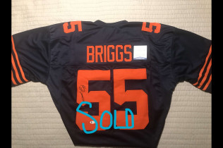 LANCE BRIGGS AUTOGRAPH THROWBACK JERSEY-$90